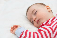 Portrait of a baby boy Royalty Free Stock Photography
