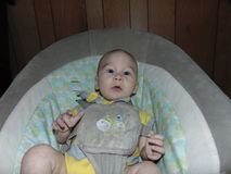 Portrait of A Baby Boy stock image