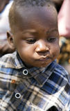 Portrait of a baby closeup of a Hadza tribe Stock Photography