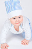 Portrait baby in clothes Stock Photos