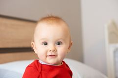 Portrait of baby Royalty Free Stock Image