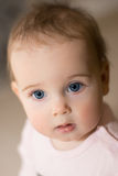Portrait of a baby. Royalty Free Stock Photo