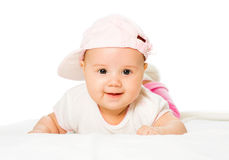 Portrait Baby Girl Royalty Free Stock Image