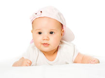 Portrait baby girl Royalty Free Stock Images