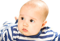 Portrait baby girl Stock Photos
