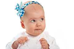 Portrait of a baby girl Stock Photography