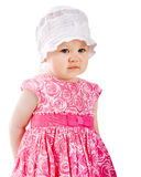 Portrait of baby girl Royalty Free Stock Photo