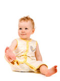 Portrait of baby girl Royalty Free Stock Images
