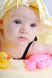 Portrait of baby girl Royalty Free Stock Photography