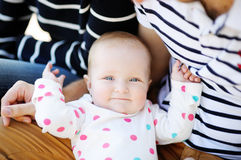 Portrait of baby girl Royalty Free Stock Image