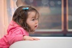Portrait of baby girl Stock Photo