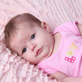 Portrait of baby girl  Royalty Free Stock Photos