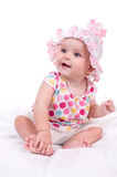 Portrait of a baby girl Royalty Free Stock Photos