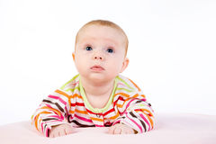 Portrait of the baby Stock Photos