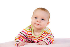Portrait of the baby Royalty Free Stock Photography
