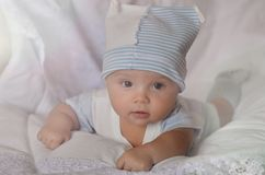Portrait of a baby. Little girl. royalty free stock photography