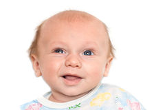 Portrait of a baby with a smile Royalty Free Stock Images