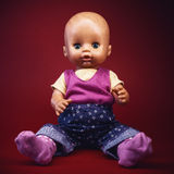 Portrait of a Baby Toy Stock Images