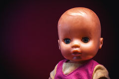 Portrait of a Baby Toy Stock Photography