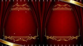Portrait background Royalty Free Stock Photos