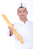 Portrait of a baker Stock Photography