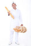 Portrait of a baker Royalty Free Stock Photos