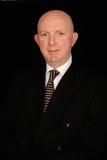 Portrait of bald businessman Stock Photography