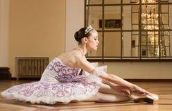 Portrait of the ballerina Royalty Free Stock Photos
