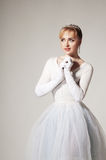 Portrait of a ballerina Royalty Free Stock Images