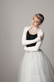 Portrait of a ballerina Stock Photo