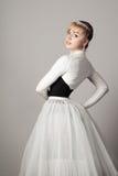Portrait of a ballerina Stock Photos