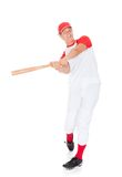 Portrait Of Baseball Player Stock Images