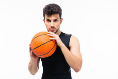 Portrait of a basketball player looking at camera Royalty Free Stock Photo