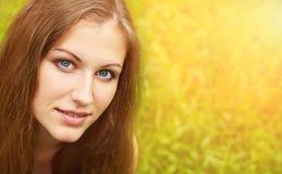 Portrait of a bautiful woman Stock Photos