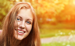 Portrait of a bautiful woman Stock Images
