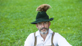 Portrait of bavarian man Royalty Free Stock Photo