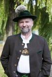 Portrait of a bavarian man Stock Image