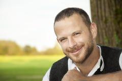 Portrait bavarois d'homme de tradition photo stock