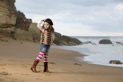 Portrait beach Stock Images