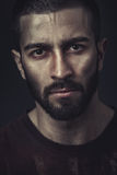 Portrait of a beardy man Royalty Free Stock Photos