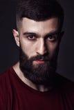 Portrait of a beardy man Royalty Free Stock Photography