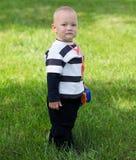 Portrait of beautiful adorable boy Stock Images
