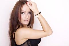 Portrait of a beautiful adult sensuality woman Stock Image