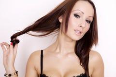 Portrait of a beautiful adult sensuality woman Stock Photo