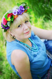 Portrait of a beautiful adult woman Royalty Free Stock Photos