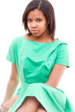 Afro American girl Stock Image