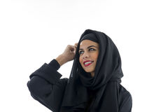 Portrait of a beautiful Arabian Woman wearing Hijab, Stock Photos