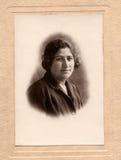 Portrait beautiful armenian girl Stock Photo