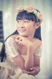 Portrait of a beautiful asian girl Royalty Free Stock Photo