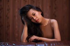 Portrait of beautiful girl Stock Image